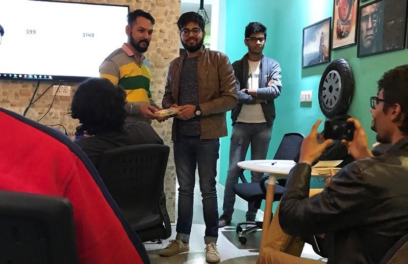 Ankit Singla WebLovers Meet Up Gift