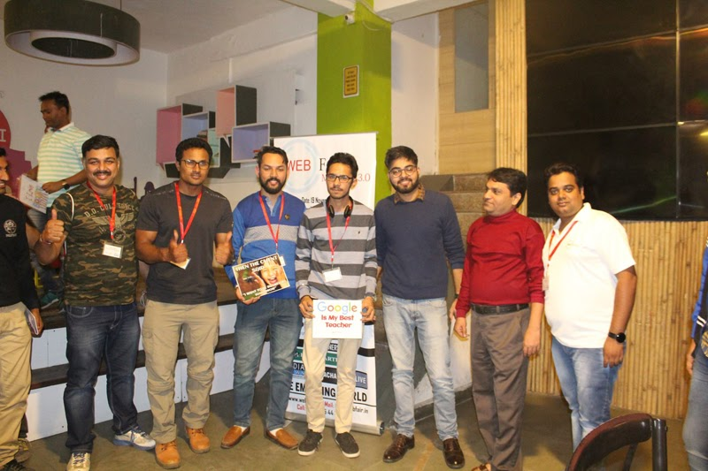 ankit singla web fair meetup group photo