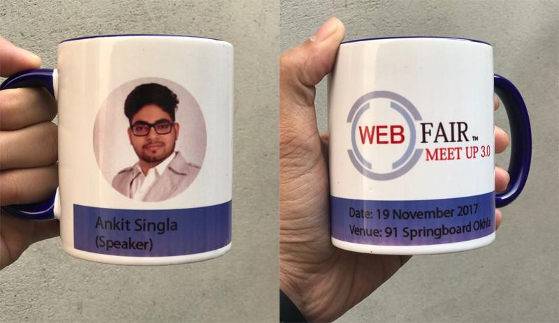 web fair meetup 3 ankit singla gift